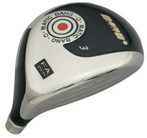 bang golf bang-o-matic fairway wood club head - view 1
