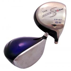bang golf storm driver club head - view 1