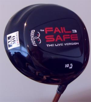 geek golf failsafe 3 driver club head - view 1
